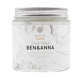 Ben&Anna Zahnpasta White Fluoride 100ml