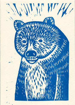Ours bleu / Blue Bear