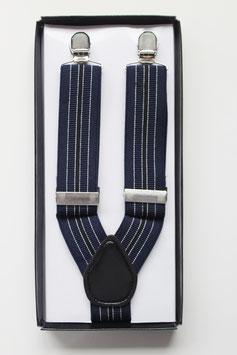 Tirantes Rayas Navy Blue