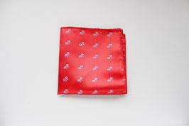 Pañuelo Rojo Bicis Celestes