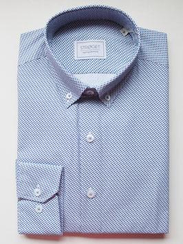 Camisa Abadia (Azul) - Stroget