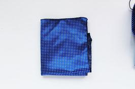Pañuelo Puntitos - Azul eléctrico