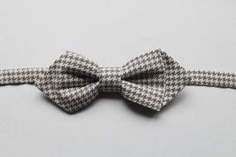 Pajarita PD - Vichy gris (PIEZA ÚNICA)