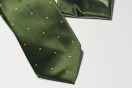 Olive green dots