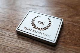 Individuelle Magnete mit Ihrem Logo oder Schriftzug (CNC gefräst)