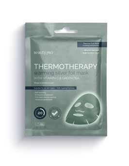 BeautyPro Thermotherapy Mask with Vitamin C & Green Tea