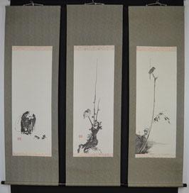 Die 3 Schätze des Miyamoto Musashi, 3er Set inkl. Kiribako