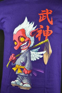 Tengu Shirt, lila, Größe M