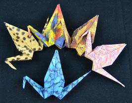 """Handgefertigtes Origami-Kranich Set """"Animals II"""""""