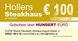 GUTSCHEIN Hollers Steakhaus