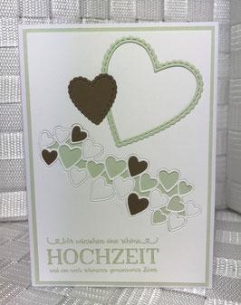 """Hochzeit """"zwei Herzen"""""""