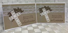 "Konfirmation/Kommunion ""Kreuz2"""