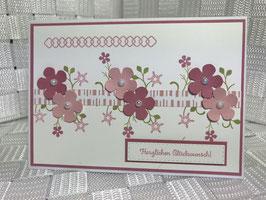 """Geburtstag """"Blüten"""""""