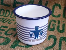 "Kaffeepott ""Schickimicki"", blau"