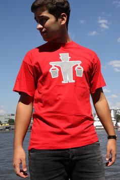 """T-Shirt """"Hummelmann Feuerrot"""""""