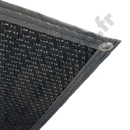 Bâche à bulles 500 microns noire - Prix au m²