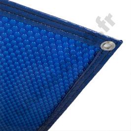 Bâche à bulles Bleue 400 microns -Prix au m²  (délais de fabrication communiqué par e-mail le stock ne nous permet pas de livrer en 8 jours en pleine saison)