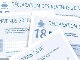 Déclaration des revenus de 2021