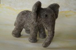 Elefantenmutter, Elefant, Filzelefant, Filztier