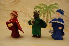 WunderFilzig Weihnachtskrippe Set 4
