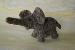 Elefantenkind, Elefant, Filzelefant, Filztier
