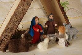 WunderFilzig Weihnachtskrippe Set 3