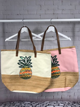 Strandtasche Ananas
