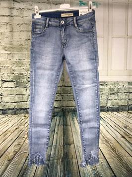 Fransen Jeans Gr.M