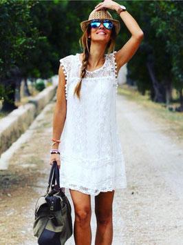 Kleid mit süßer Spitze