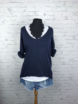 Top mit Sweater Kombi