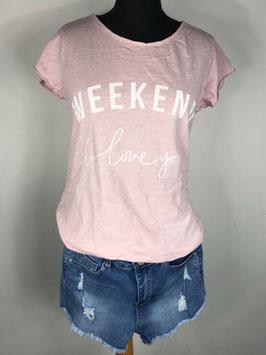 Weekend I love you T-Shirt