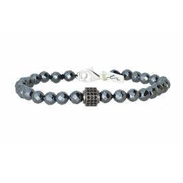 Silber Armband mit echten Steinen