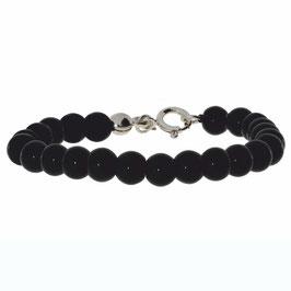 Onyx Silber Armband