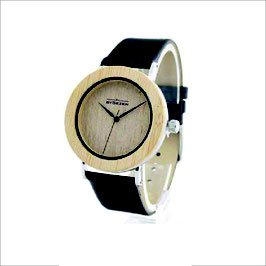 bySezen wood Watch blue