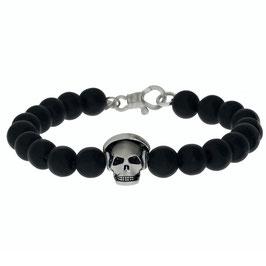 Skull Armband mit Kopfhörer