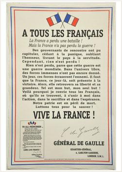 A tous les Français (Charles de Gaulle)