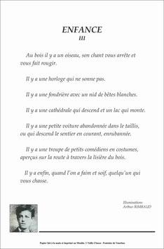 Poème de Arthur RIMBAUD