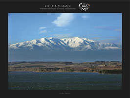 "Poster ""Entre Ciel & Mer"" - Le Canigou"