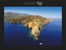 """Poster """"Entre Ciel & Mer"""" - Le Cap Béar"""
