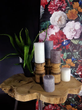Candle handmade klein