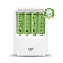 GP Batteries ReCyko Ladegerät 420 White