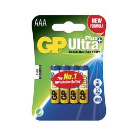 GP Batteries Ultra Plus Alkaline AAA