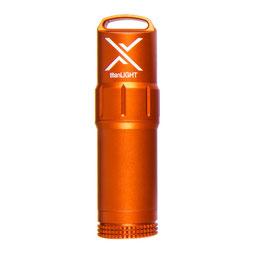 EXOTAC titanLIGHT Benzin- Feuerzeug orange