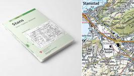 Landeskarte der Schweiz 1 : 50'000 vom Bundesamt für Landestopografie