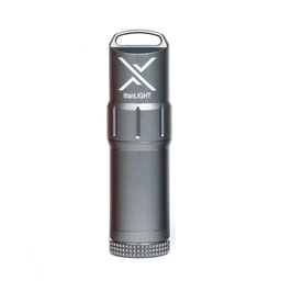EXOTAC titanLIGHT Benzin- Feuerzeug Gunmetal