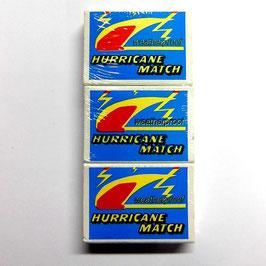 Hurricane Sturmstreichhölzer -    3er Pack zu je 20 Stück