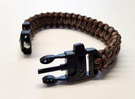 Paracord Armband Woodland