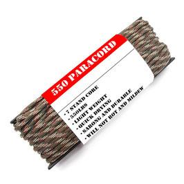 OS Paracord 550 Seil Woodland