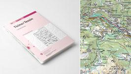Landeskarte der Schweiz 1 : 100'000 Zusammensetzungen
