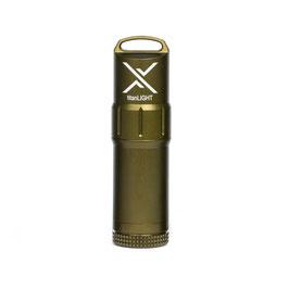 EXOTAC titanLIGHT Benzin- Feuerzeug olivgrün